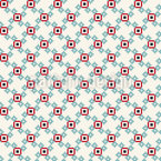Cute Pixels Seamless Vector Pattern Design