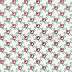 Niedliche Pixel Musterdesign
