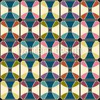 Verbund mit Runden Formen Muster Design