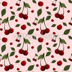 Cherry Picking Seamless Pattern