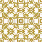 Precious Flora Seamless Vector Pattern Design