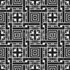 Muitas maneiras de se perder Design de padrão vetorial sem costura
