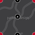 Dark Ways Seamless Vector Pattern Design