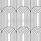 Bright Doors Seamless Vector Pattern Design