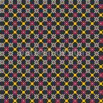 Pixel In Zeile Nahtloses Vektormuster