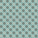 Diagonal Pixel Seamless Vector Pattern Design