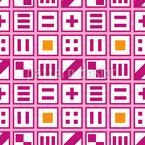 Verspieltes Schachbrett Vektor Muster