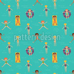 Pure Summer Joy Pattern Design