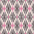 Ikat X Seamless Vector Pattern Design