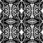 Dark Illusion Seamless Pattern