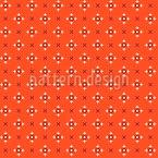 Pixel Kreuz Nahtloses Vektormuster