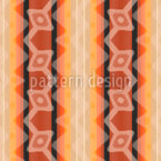 Ikat Tigereye Seamless Vector Pattern Design