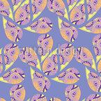 Gentle Teardrops Seamless Vector Pattern Design