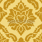 Pop Baroque Mix Seamless Vector Pattern Design