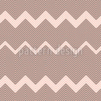 Zig-zag Stripes Design Pattern