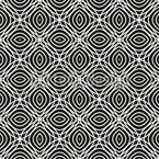 Moving Round Shapes Seamless Vector Pattern Design
