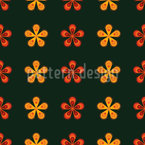 Fantasy Blossoms Repeating Pattern