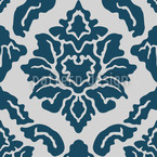 Pop Barock Blau Vektor Design