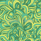 Waves Seamless Vector Pattern