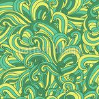 Wellen Nahtloses Vektor Muster