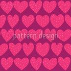 Herzen mit Sommersprossen Vektor Design