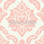 Delicate Pop Baroque Seamless Vector Pattern Design
