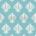 Lady De Winter Seamless Vector Pattern Design