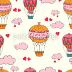 Above The Clouds Pattern Design