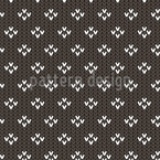 Simple Knitting Seamless Vector Pattern Design