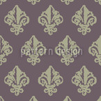 Lady De Winter Grey Pattern Design