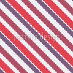 Cloudy Stripes Vector Pattern