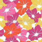 Trumpet Flowers Vector Design