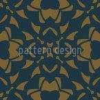 Gotische Blütenblätter Muster Design