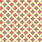 Pixel Erinnerungen Nahtloses Vektormuster