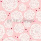 Dillo con le rose disegni vettoriali senza cuciture