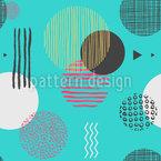 Strukturierte Geometrische Formen Vektor Muster