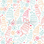 Growing Love Seamless Pattern