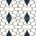 Geometrical Grid Ornaments Design Pattern