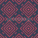 Symmetrische quadratische Formen Nahtloses Vektor Muster
