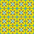 Kantiges In Quadraten Vektor Muster