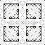 Linhas de Dança Design de padrão vetorial sem costura