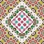 神話のタイル シームレスなベクトルパターン設計