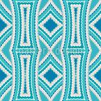 Ilusão Ondulado Design de padrão vetorial sem costura