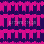 Elypso Pink Seamless Vector Pattern Design