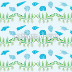 Catch Of The Day Seamless Vector Pattern Design