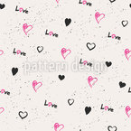 My Big Love Repeating Pattern