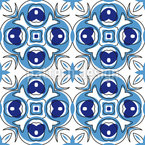 Pintura decorativa Design de padrão vetorial sem costura