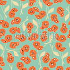 Garden Of Peace Seamless Pattern