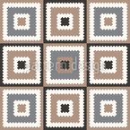 Seventies Patchwork Repeat Pattern