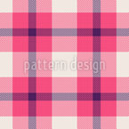 Tartan Textur Muster Design